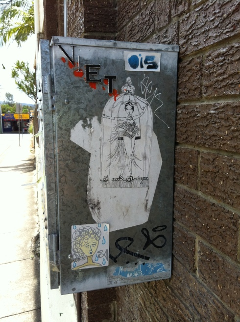 Granville Street Fuse Box - West End - {photo: alicia camenzuli}